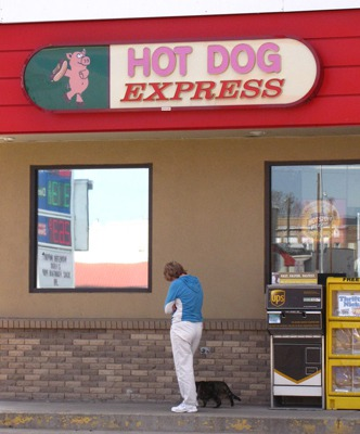Leesha Explores the Gas Stop in Forsythe MT