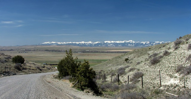 Dropping Into the Madison River Valley