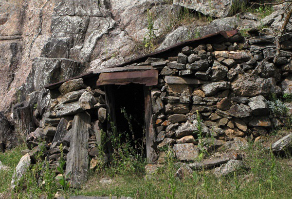 Entrance to an Old Mine on Pennington County Road 233