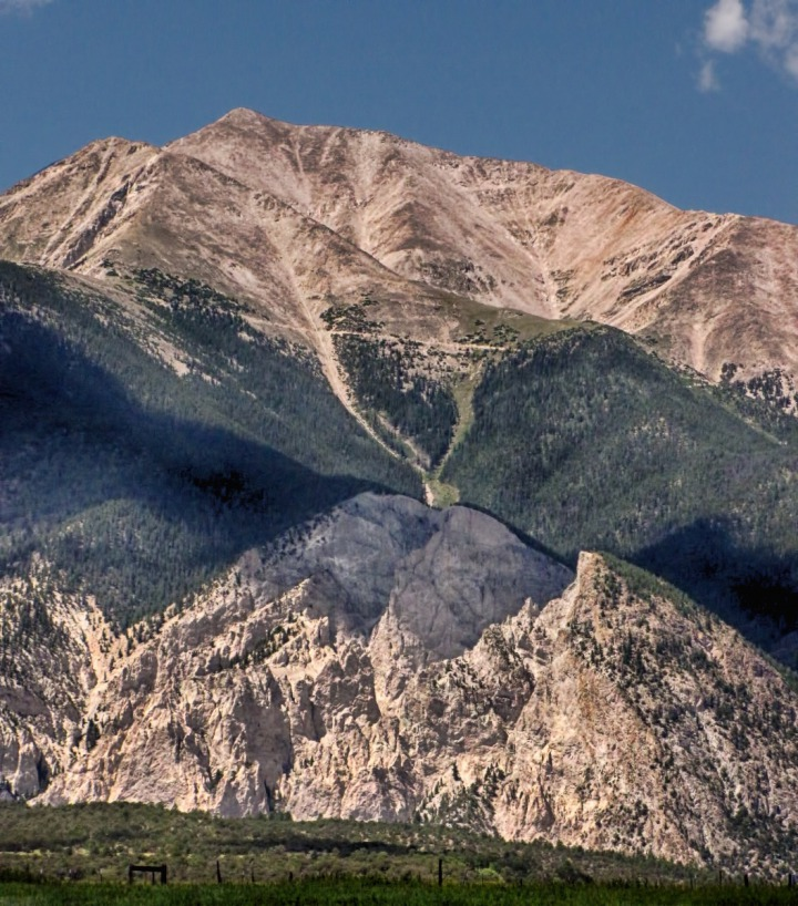 South Flank of Mt Princeton CO