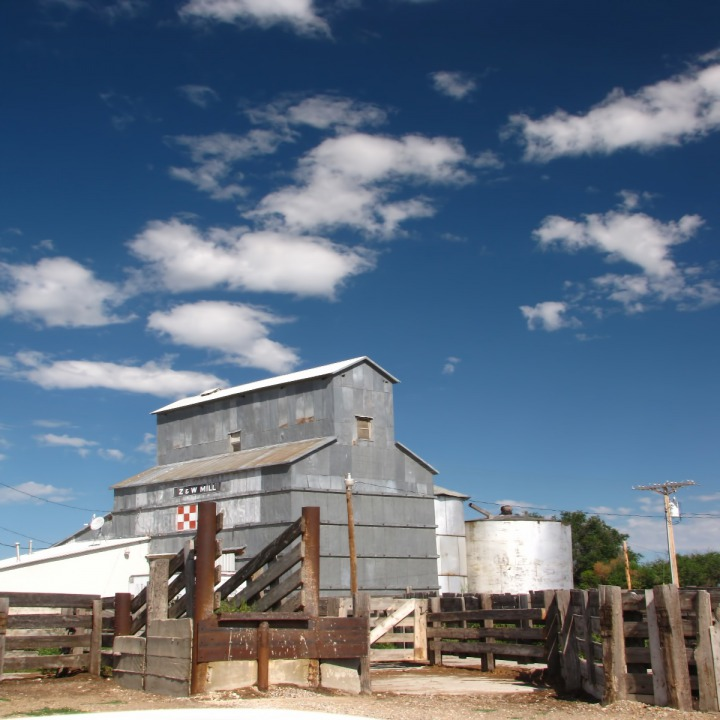 Torrington WY Feed Mill and Corral