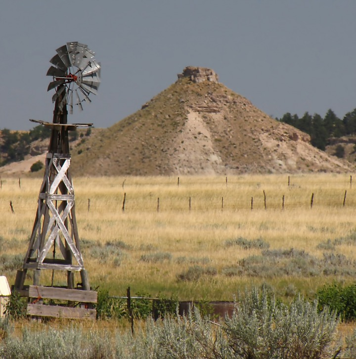 Windmill and Conical Butte