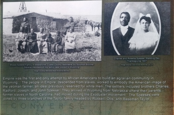 Story of Empire, African Americans