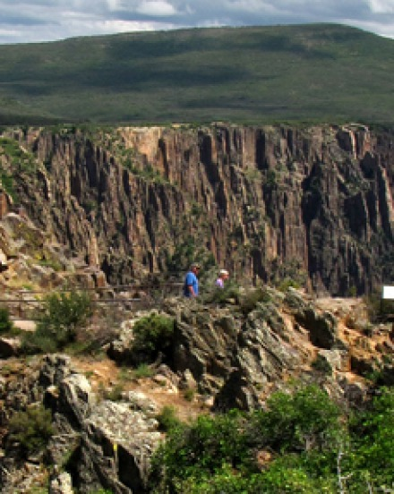 South Rim of Black Canyon of the Gunnison